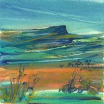 Turquoise Sky 5x5