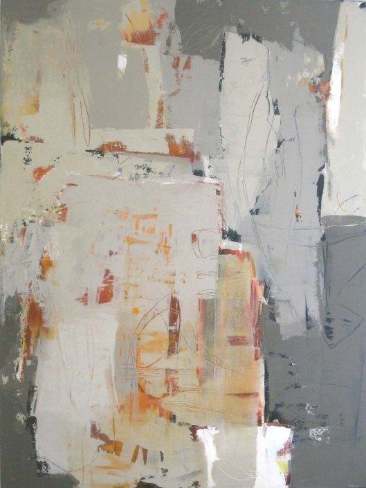 "Kerrville Grey-working title----48 x 36""---acrylic"