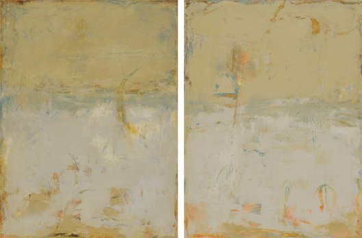 Quiet Conversation Diptych    40